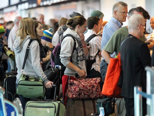 portland airport security