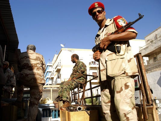Libya weapons