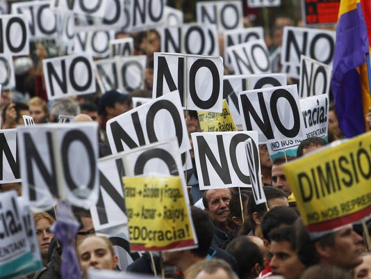 Spain Protest
