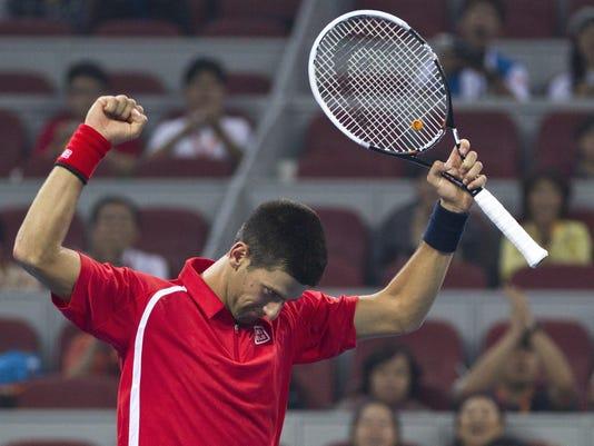 2012-10-2 Djokovic defeats Berrer