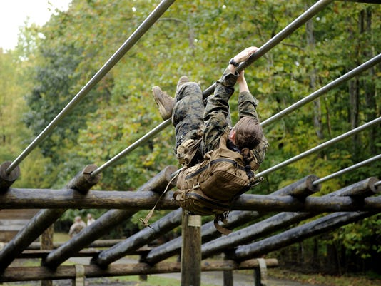 women marine infantry course