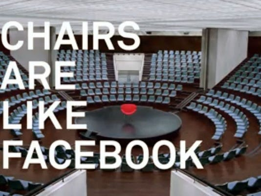 Facebook chair video