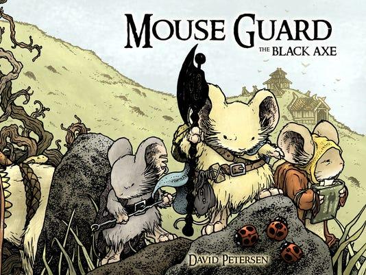 Mouse Guard Black Axe