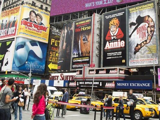 new york broadway ads