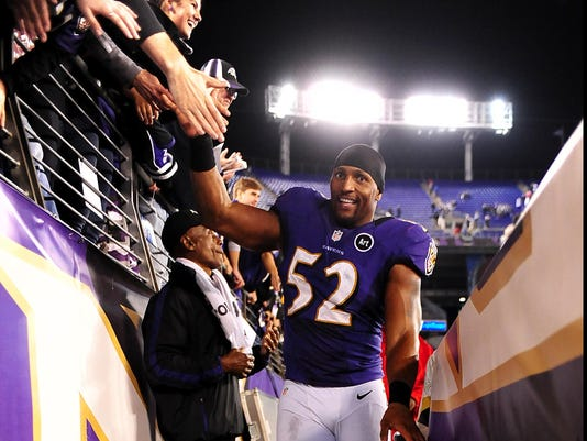 Ray Lewis 10-16-12