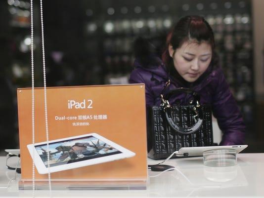 china ipad shopping