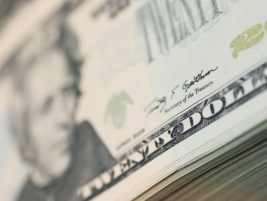 $20 20 dollar bill