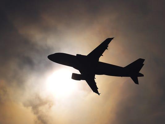 plane silhouette 2010