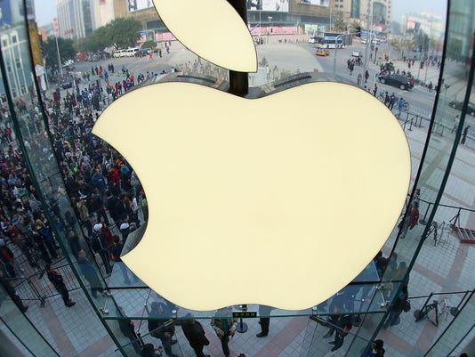 apple logo store