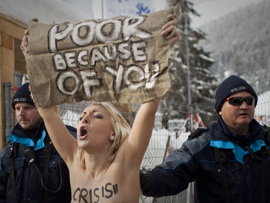 naked protests