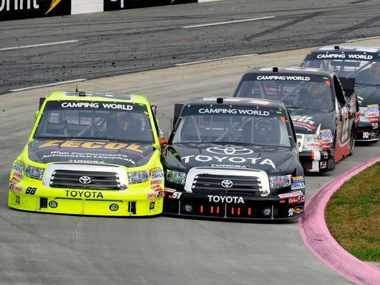 2012-10-27 denny hamlin trucks