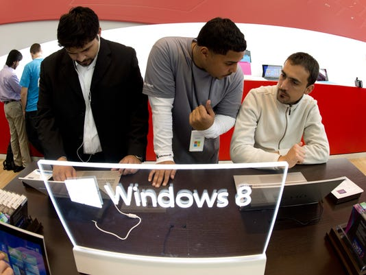 Windows 8 popup store