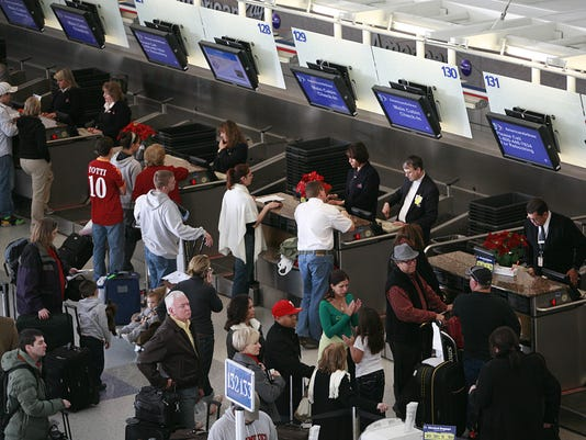 Christmas Dallas airport 2009