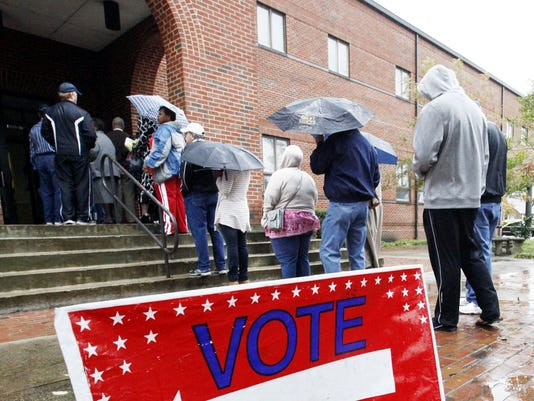 Early voting before the storm