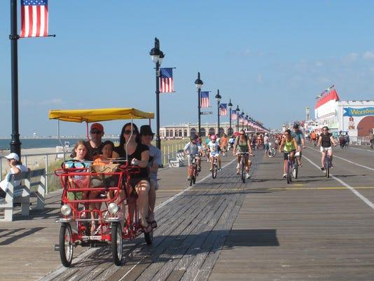 jersey shore boardwalk august