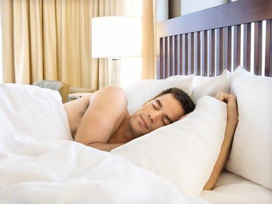 Hotel room sleep
