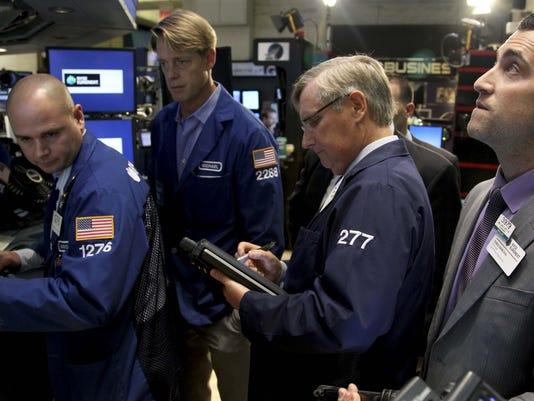 stock exchange traders