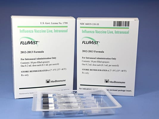 FluMist vaccine