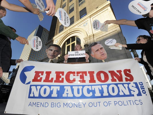 your say campaign coffers