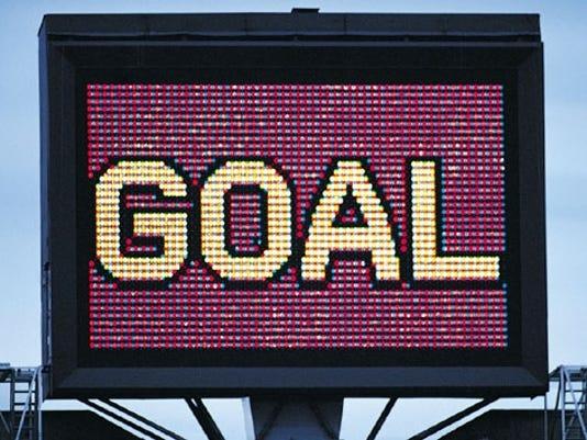 goal sign