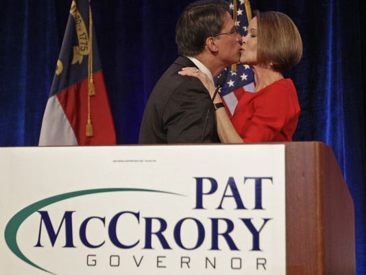 North Carolina election pat mccrory