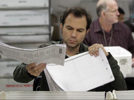Florida vote count