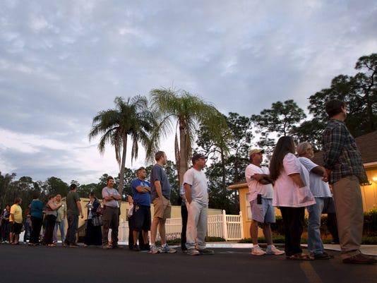 florida voting line 2012
