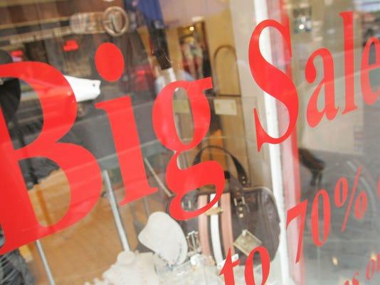 window sale sign