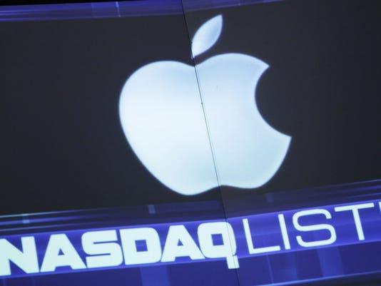 apple logo nasdaq