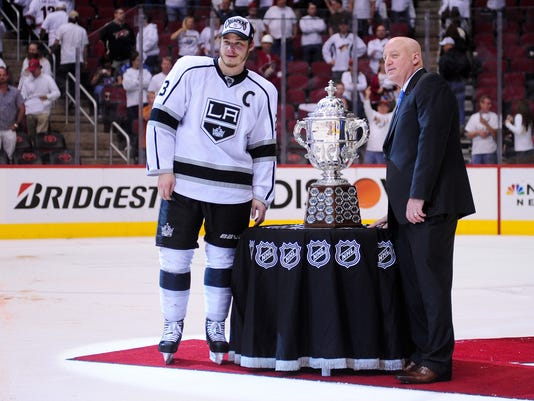 Bill Daly, Dustin Brown