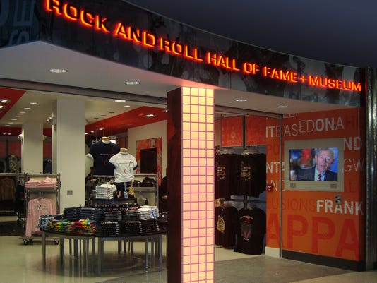 Rock and Roll Hall of Fame Museum store