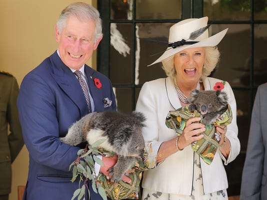 Prince Charles and wife Camilla Duchess of Cornwall