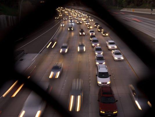 Thanksgiving travel highway