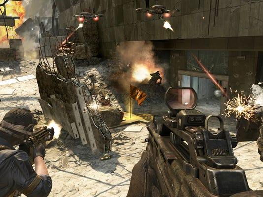 COD Black Ops II scene