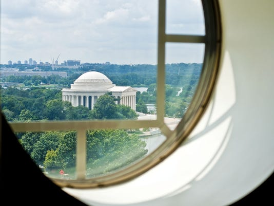 Jefferson Memorial view