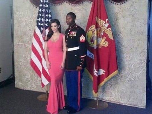Kim Kardashian, Sgt. Martin Gardner