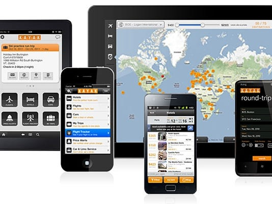 Kayak apps