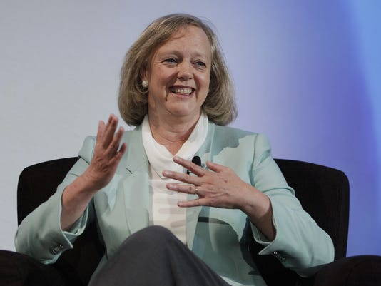 meg whitman hewlett packard hp 2012