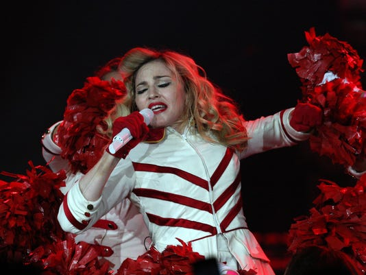 Madonna in concert Russia