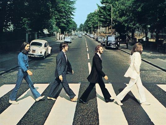 Abbey Road Crossing Beatles 2