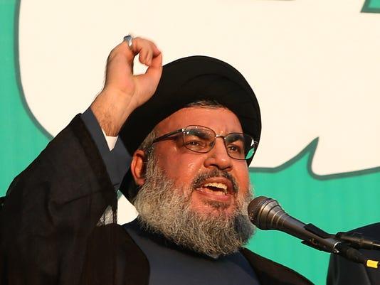 hezbollah Sheik Hassan Nasrallah