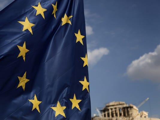 parthenon eu flag 2012