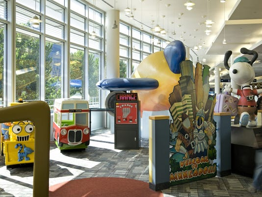 Minneapolis-St. Paul airport play area