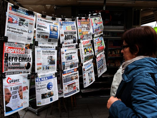 greece newsstand