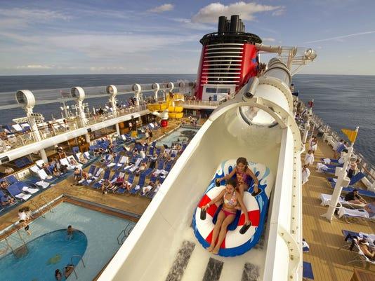 Disney cruise ship AquaDuck