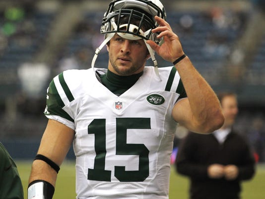 tebow inactive