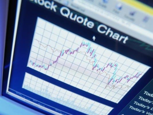 stocks chart screen