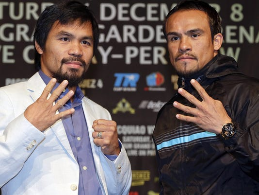 Pacquiao and Marquez
