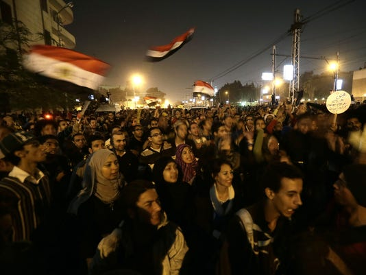anti-morsi protests