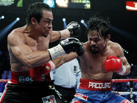 Marquez and Pacquiao